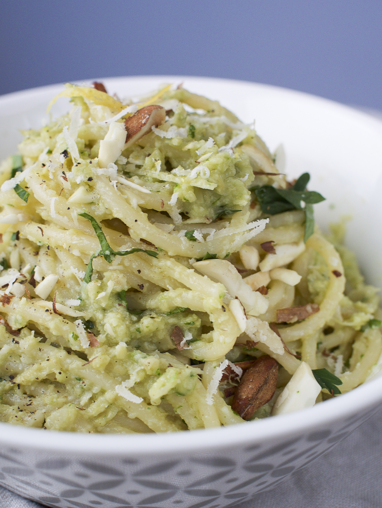 artichoke and almond pasta