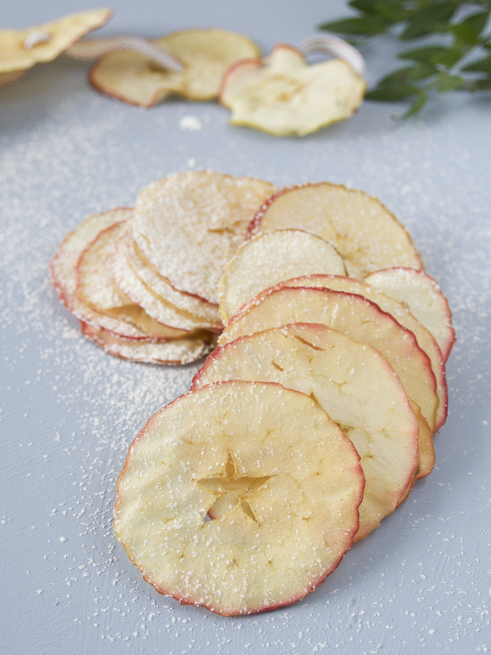 lemon flavored dried apples