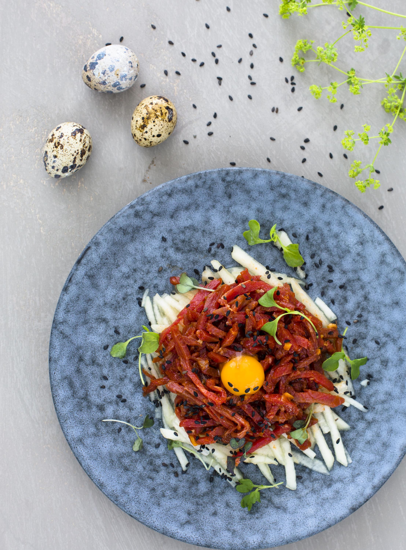 Korean beef tartar Yukhoe
