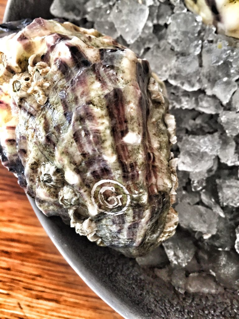 Oysters from Gillardeau