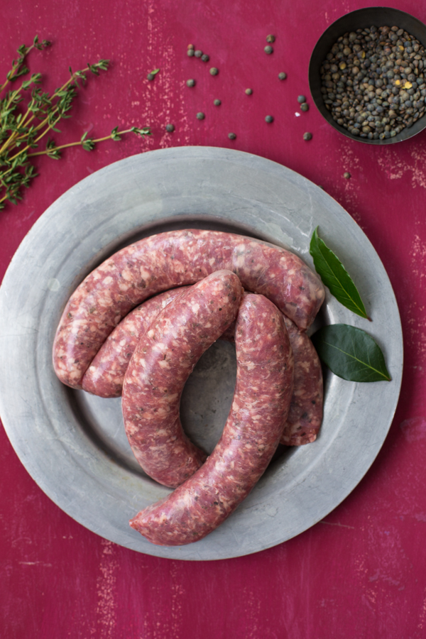 Moose sausages