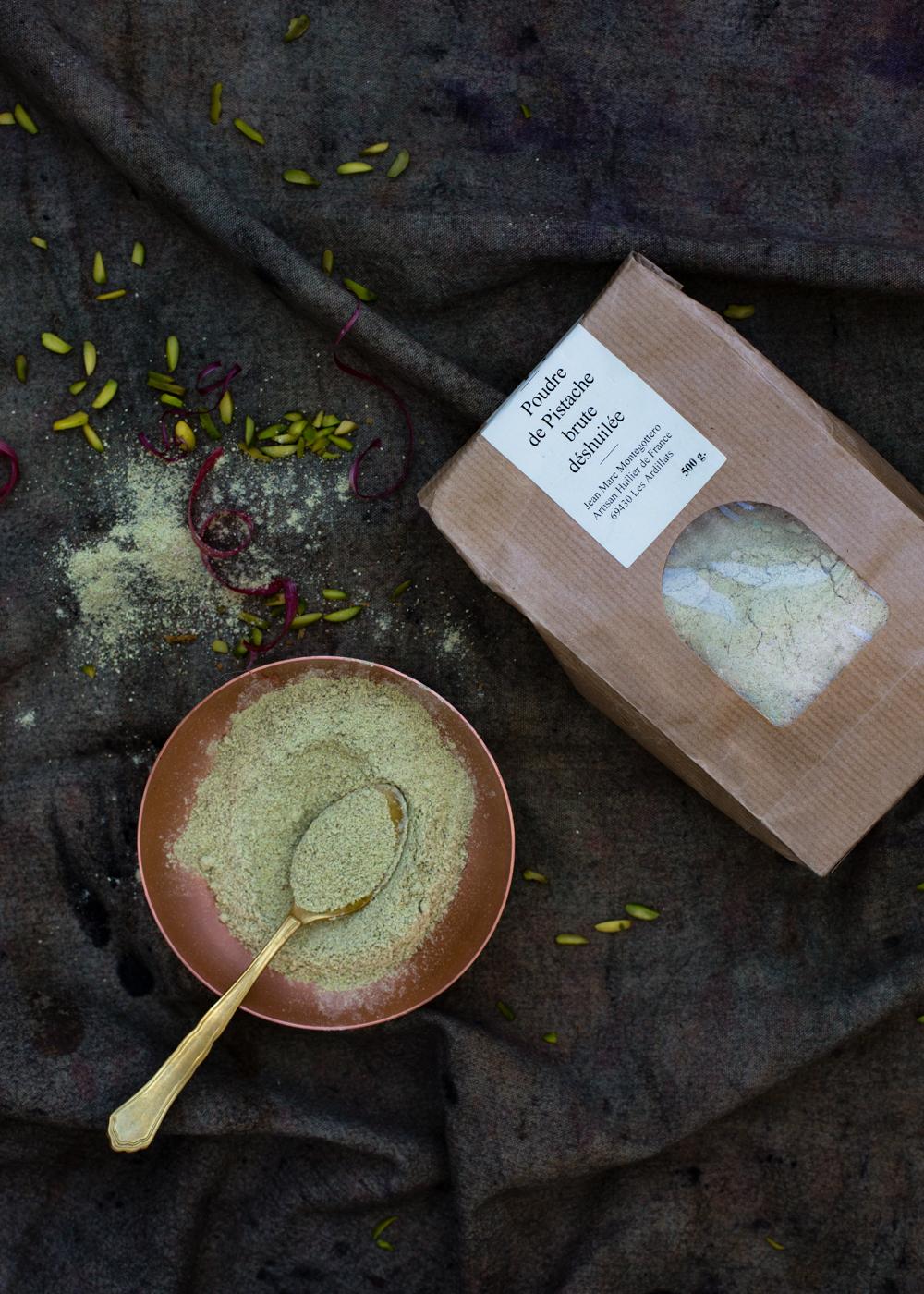 pistacchio flour