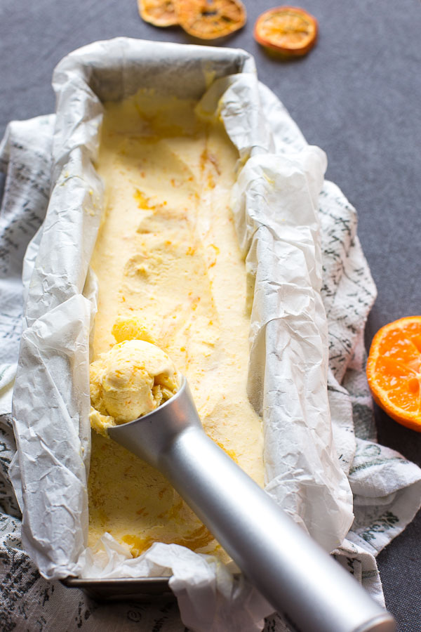 clementine ice cream