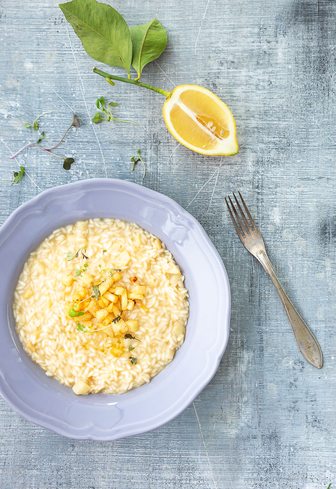 Celeriac risotto is perfect winter food